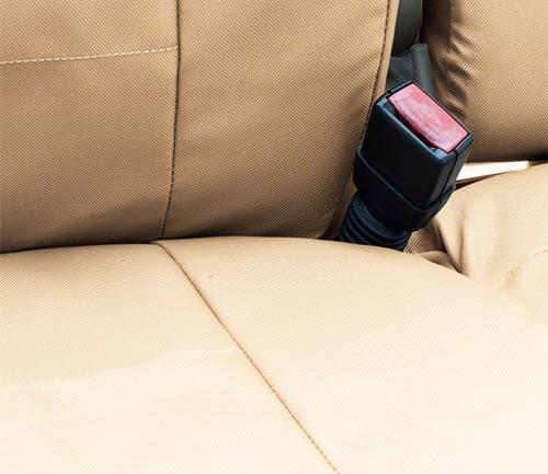 coverking cordura/ballistic tactical seat cover cashmere