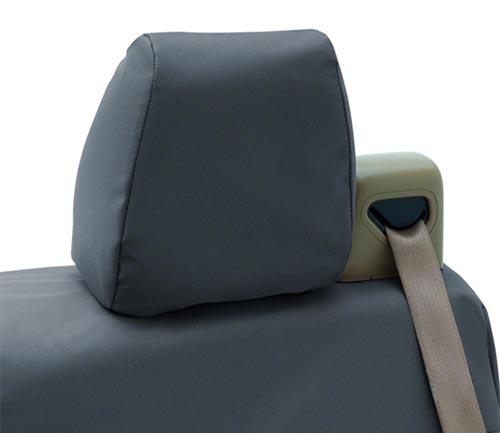 coverking cordura/ballistic seat cover gray