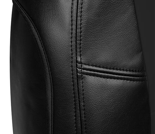 coverking genuine leather seat cover side airbag