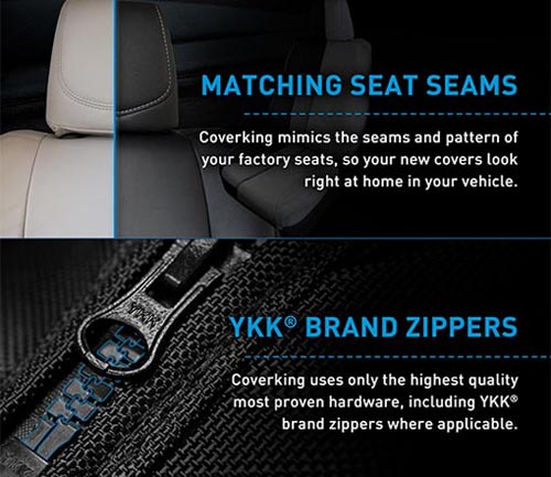 coverking seat cover info