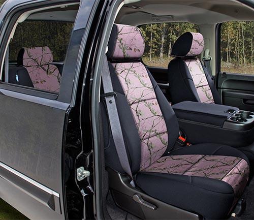coverking neosupreme realtree seat cover ap pink