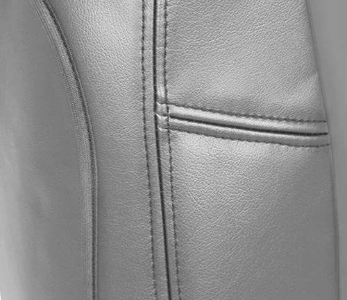 coverking premium leatherette seat cover side airbag