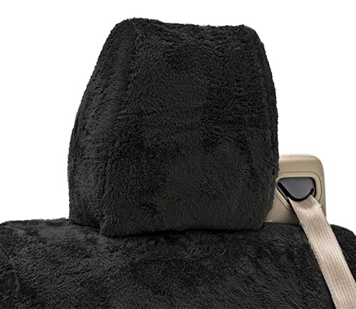 coverking snuggleplush seat cover headrest