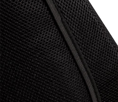 coverking spacer mesh seat cover side airbag