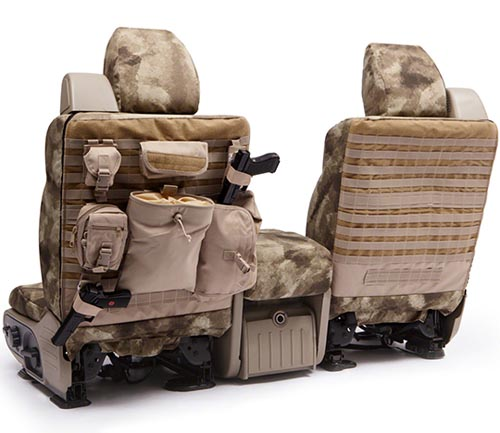 coverking ballistic a-tacs tactical seat cover au backing