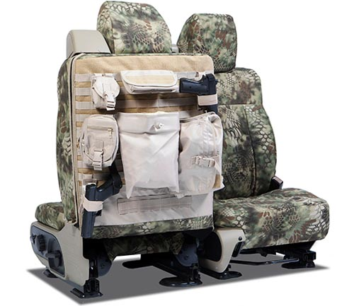 coverking ballistic kryptek tactical seat cover mandrake backing