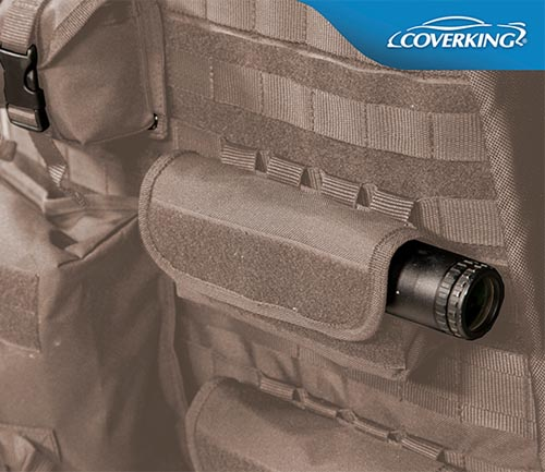 coverking cordura/ballistic tactical seat cover cashmere backing