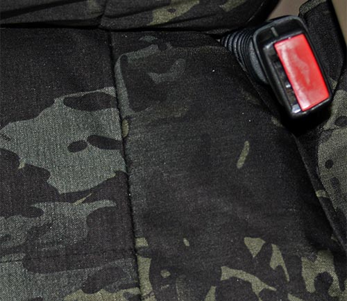 coverking cordura/ballistic multi-cam tactical seat cover black