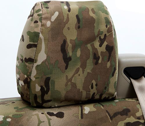 coverking cordura/ballistic multi-cam tactical seat cover classic
