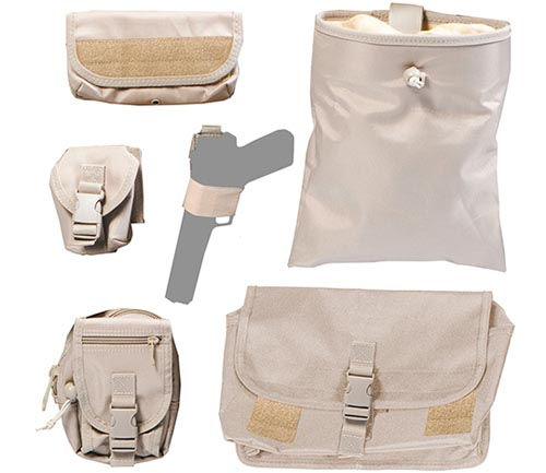 coverking tactical seat cover tan pouches