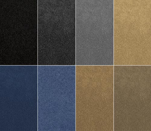 coverking carpet molded dash cover colors