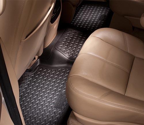husky classic style floor mat black second row