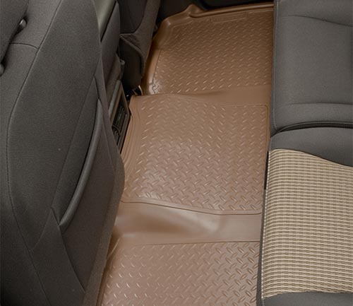 husky classic style floor mat tan second row