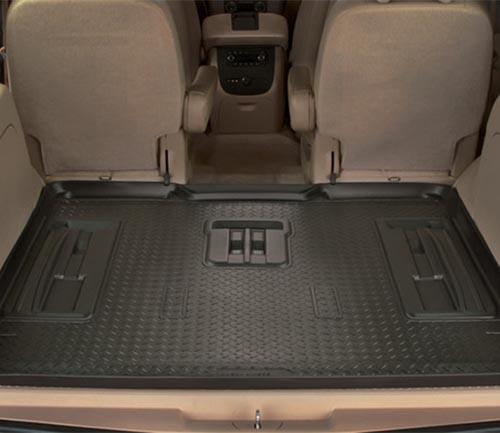 husky classic style floor mat black cargo