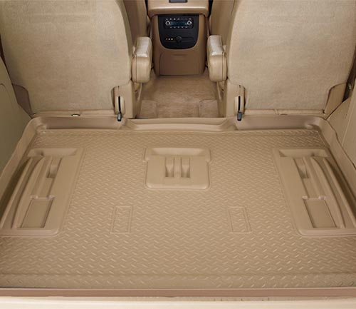 husky classic style floor mat tan cargo