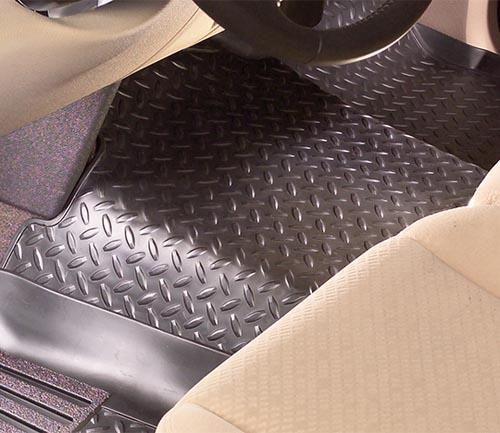 husky classic style floor mat black center hump
