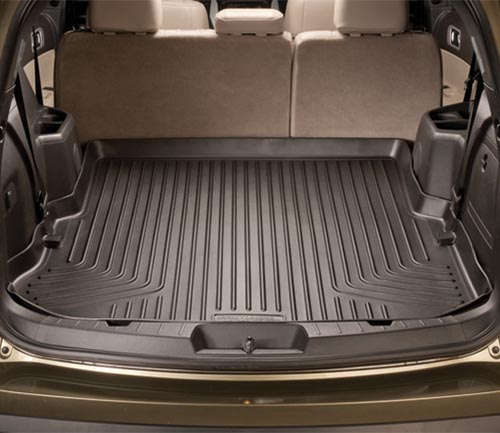 husky weatherbeater series floor mat black cargo