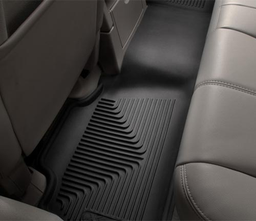 husky x-act contour series floor mat second row