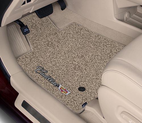 lloyd berber 2 floor mat driver cadillac logo
