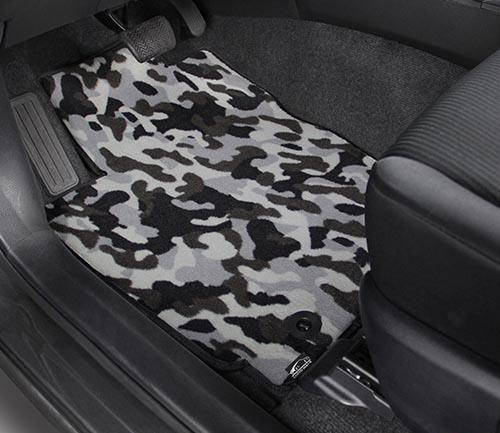 Nylon Carpet Coverking Custom Fit Front Floor Mats for Select BMW 7-Series Models Black