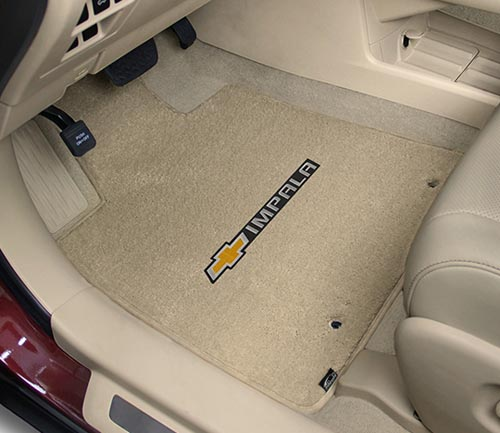 lloyd luxe floor mat chevrolet logo