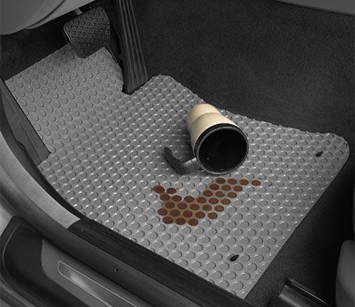 lloyd rubbertite floor mat driver spill