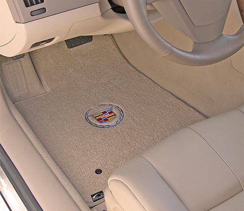 lloyd ultimats floor mat cadillac logo