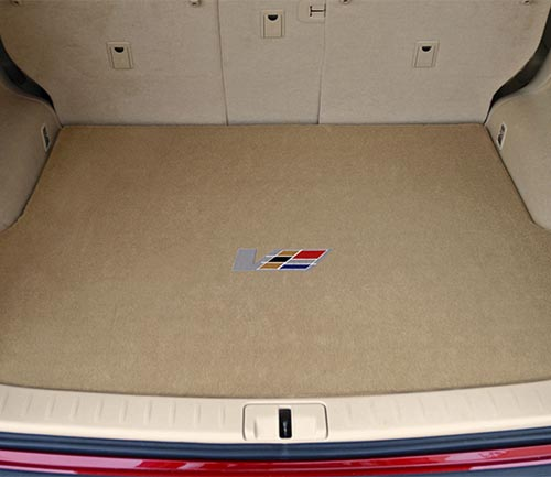 lloyd velourtex floor mat cadillac logo