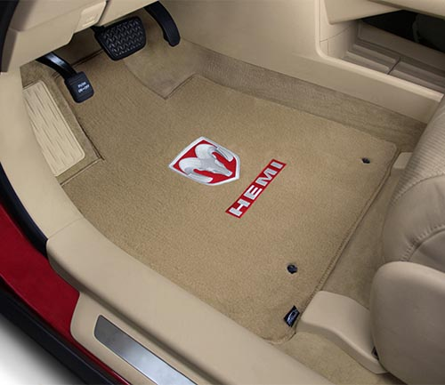 lloyd velourtex floor mat ram hemi logo