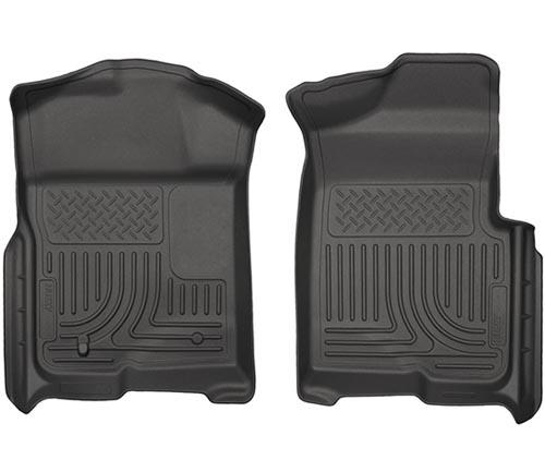Coverking Custom Fit Front Floor Mats for Select Lexus GS Models Nylon Carpet Black